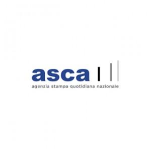 Il marchio realizzato per l'Agenzia di stampa ASCA