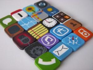I magneti a forma di icone iphone
